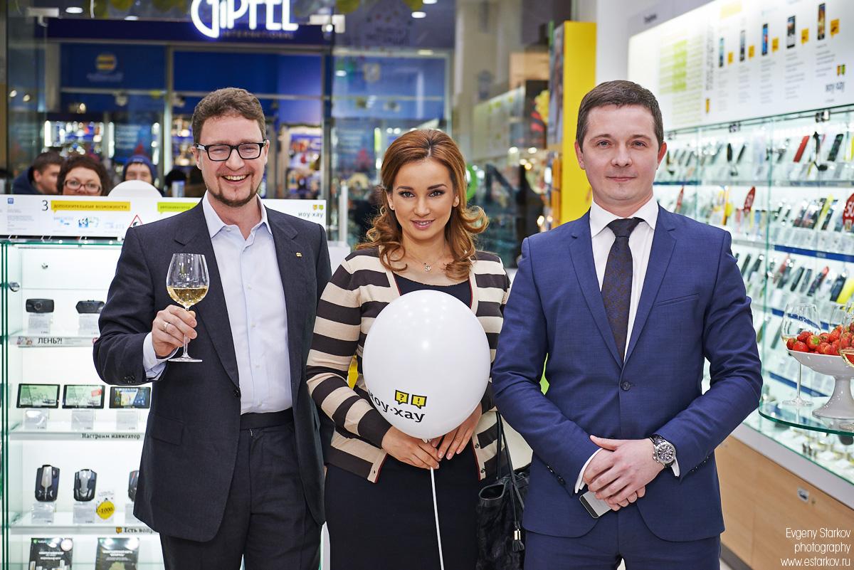 Открытие магазина Ion в Москве