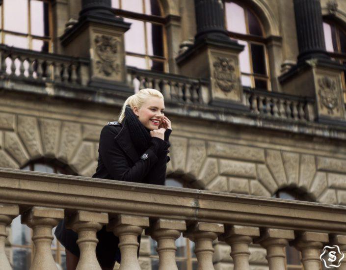 Фотосессия в Праге: портреты для Мии