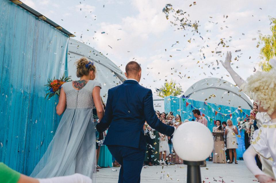 Свадьба: Даша и Дима, тропическая свадьба в Строгино