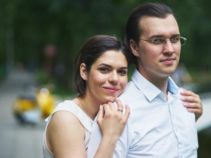 Lovestory в Москве: Макс и Полина