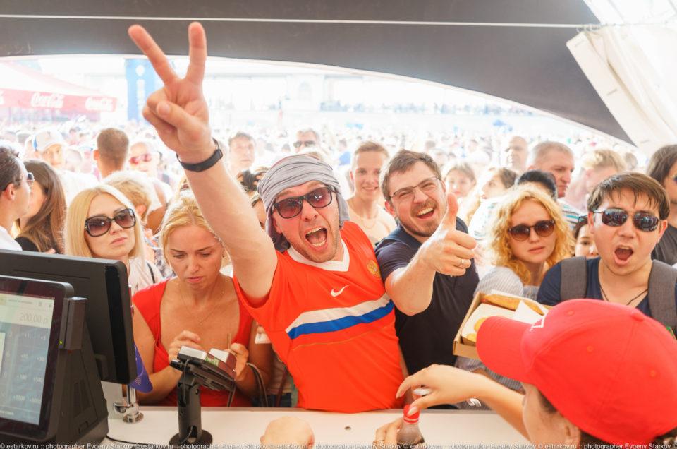 Fanfest в Сочи: Чемпионат Мира по футболу!