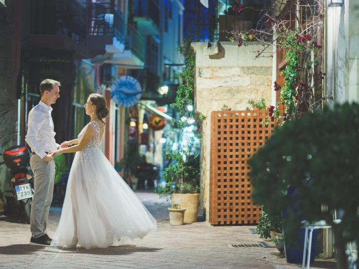Леся и Кирилл: Свадьба на Крите